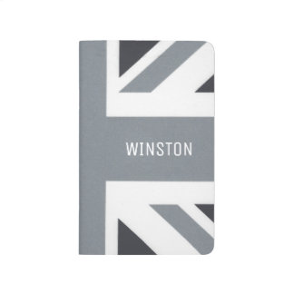 British Union Jack | Black Jack Modern Custom Journal
