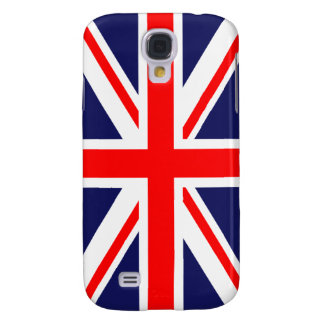 British Union Jack Britain London flag Galaxy S4 Cases