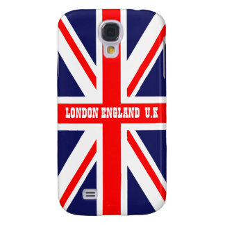 British Union Jack Britain London flag Galaxy S4 Case