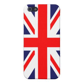 British Union Jack Britain London flag iPhone 5/5S Cases