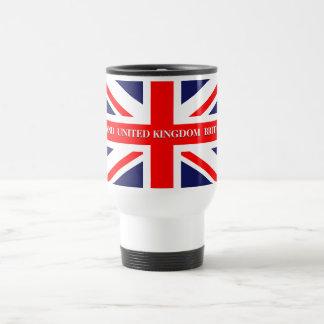 British Union Jack Britain London flag Stainless Steel Travel Mug