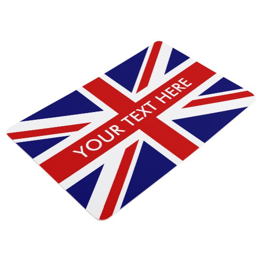 British Union Jack English flag custom floor mat