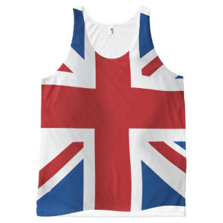 British Union Jack flag All-Over Print Tank Top