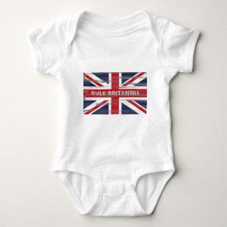 British Union Jack Flag Baby Bodysuit