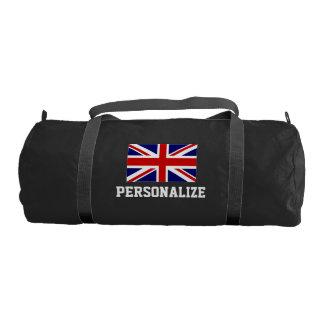 British Union Jack flag duffle gym bag | Customize