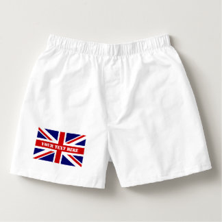 British Union Jack flag mens boxer short underwear Boxers
