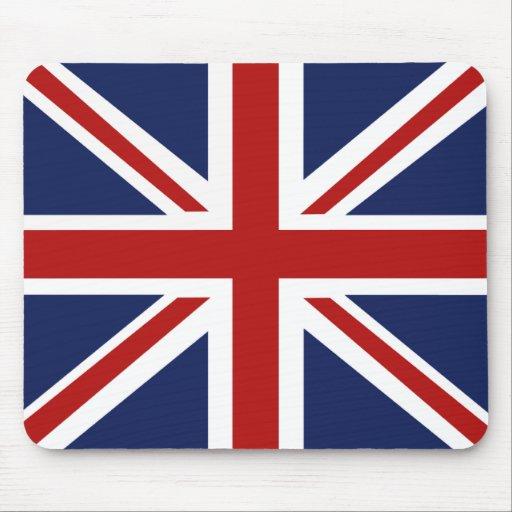 british union jack flag mousepad zazzle. Black Bedroom Furniture Sets. Home Design Ideas