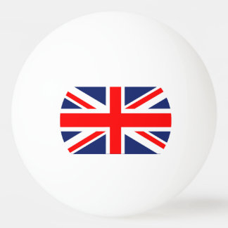 British Union Jack Flag Ping Pong Ball