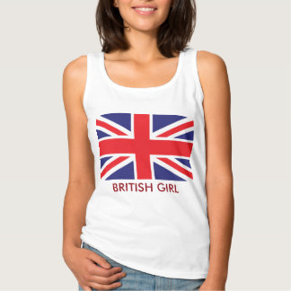 British Union Jack Flag Tank Top