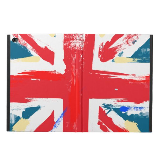 British Union Jack Flag Vintage Worn Powis iPad