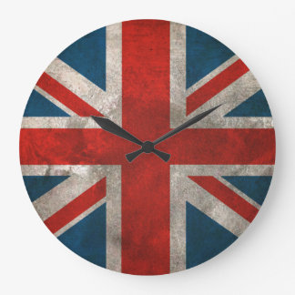 British Union Jack Large Clock