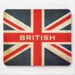 British Union Jack Mod Mousepad