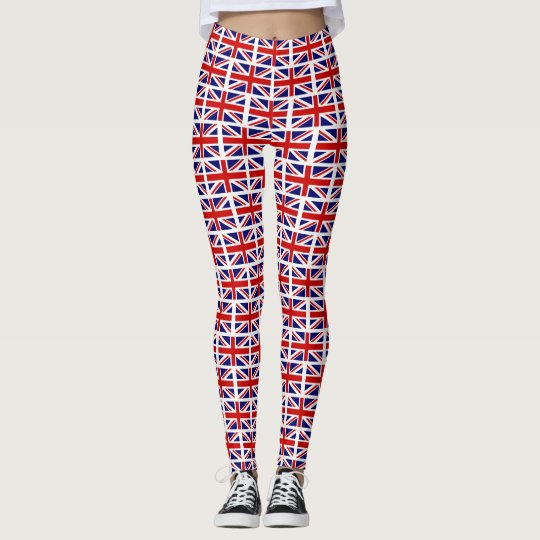 British Union Jack UK flag pattern yoga or