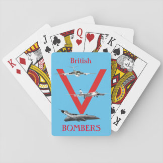 British 'V' Bombers Playing Cards