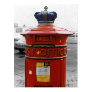 British Victorian pillar box - Liverpool Special 1 Postcard