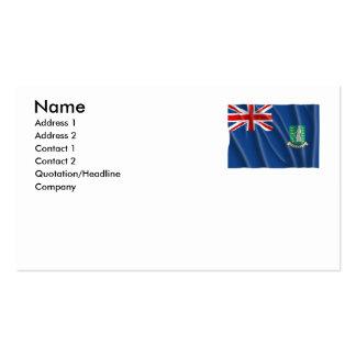 BRITISH VIRGIN ISLANDS BUSINESS CARD
