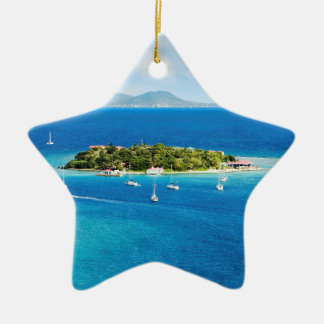 British Virgin Islands Christmas Ornament