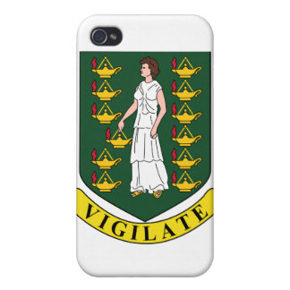 British Virgin Islands Coat Of Arms iPhone 4 Case