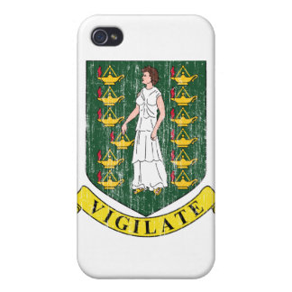 British Virgin Islands Coat Of Arms iPhone 4 Cover