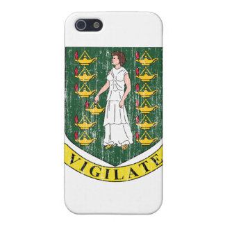 British Virgin Islands Coat Of Arms Cases For iPhone 5