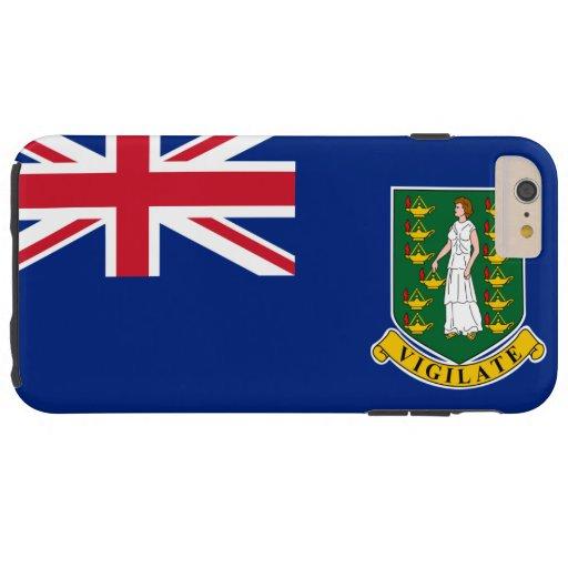 British Virgin Islands flag Tough iPhone 6 Plus Case
