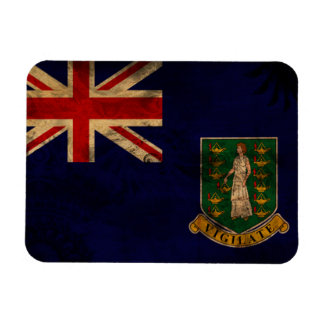 British Virgin Islands Flag Rectangular Photo Magnet