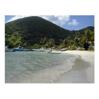 British Virgin Islands - Jost Postcard