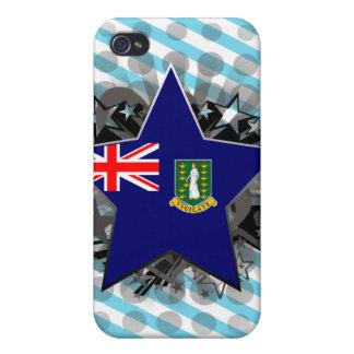 British Virgin Islands Star iPhone 4/4S Cases