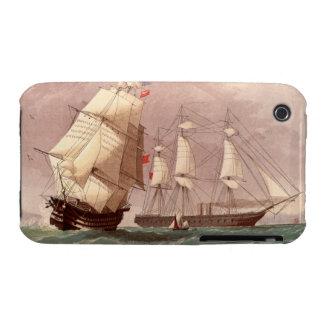 British warship HMS Warrior iPhone 3 Cases