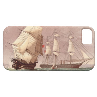 British warship HMS Warrior iPhone 5 Cover