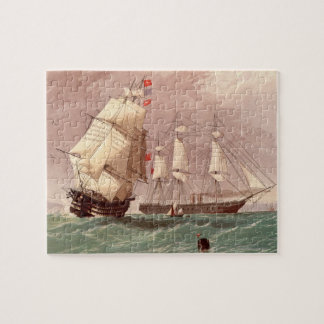British warship HMS Warrior Jigsaw Puzzle