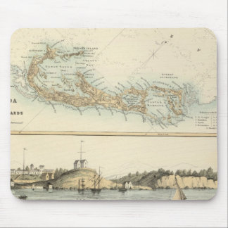 British West Indian Possessions Mouse Mat