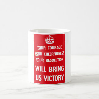 British WW2 Propaganda Coffee Mug