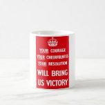 British WW2 Propaganda Mug