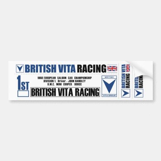 BritishVita Sticker Sheet Bumper Sticker