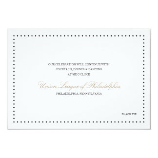 Britney: Classic Reception Card (Black border)