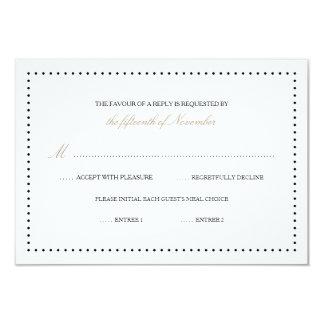 Britney: Classic Response Card (Black border)