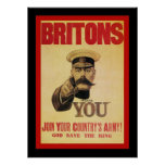 Britons ~ Join Your Country's Army! Poster