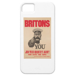 Britons Lord Kitchener Wants You WWI Propaganda iPhone 5 Case