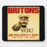 Britons Wants You, Lord kitchener Mousepad
