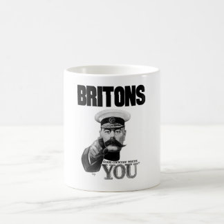 Britons Your Country Needs You - Lord Kitchener Coffee Mug