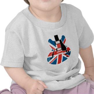 Britpop Guitar Shirt