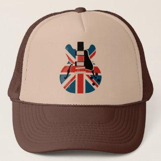 Britpop Guitar Trucker Hat