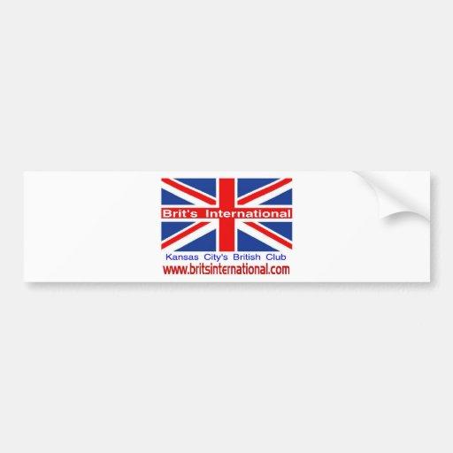 Brit's International Bumper Sticker
