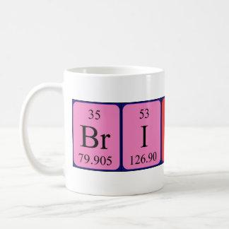 Brittani periodic table name mug