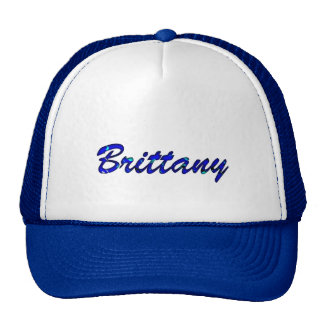 Brittany Blue Style Trucker cap