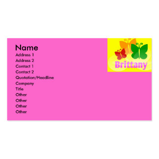 BRITTANY BUSINESS CARDS