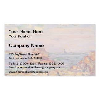 Brittany Coast by Maurice Prendergast Double-Sided Standard Business Cards (Pack Of 100)
