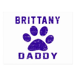 Brittany Daddy Gifts Designs Post Cards