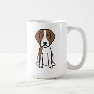 Brittany Dog Cartoon Coffee Mugs